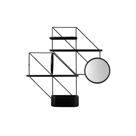 推荐组合2:2金属架+2长板+1短板+1圆隔板+1喇叭镜+1储物盒
