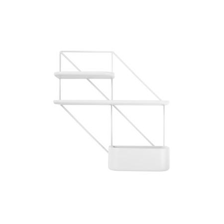 推荐组合3:1金属架+1短板+1长板+1储物盒