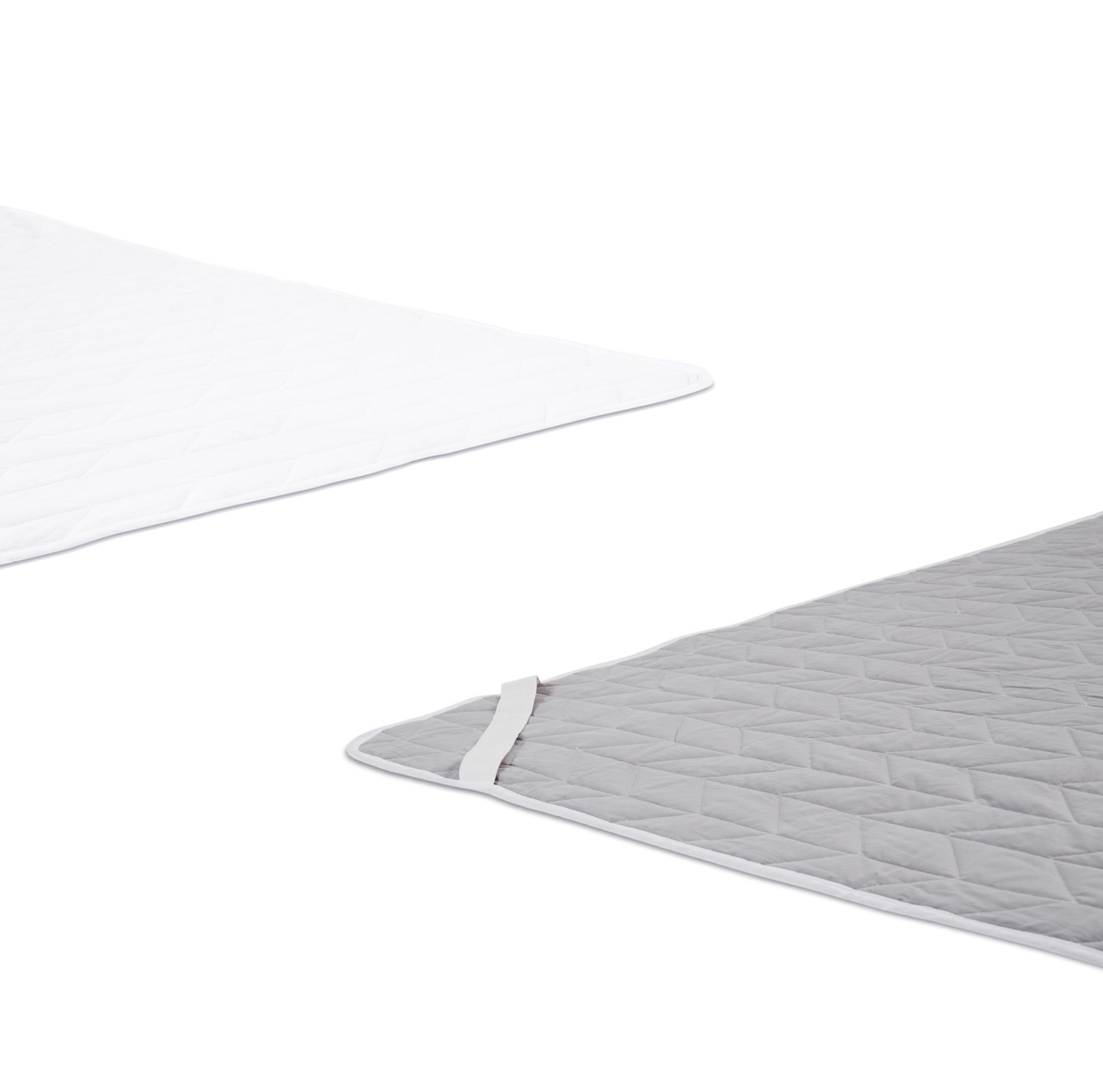 面料采用双面配色,正面白色,背面高级灰,一眼区分正反,扣垫和选面晾晒都更快捷方便。?x-oss-process=image/format,jpg/interlace,1