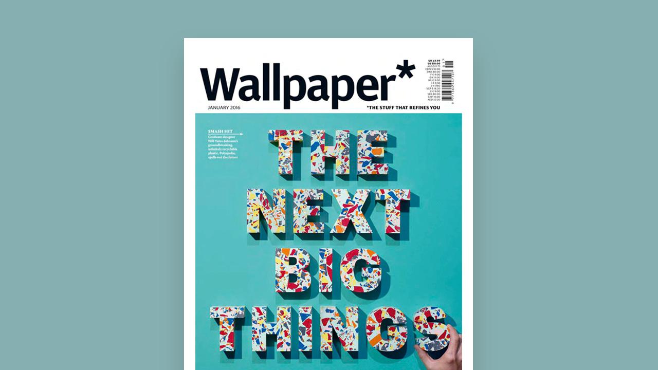"""有着""""设计界圣经""""之称的英国设计杂志Wallpaper 在2016年一月刊以""""Local hero""""为题对造作进行报道,创始人舒为携8点椅等六件作品登上杂志内页。"""