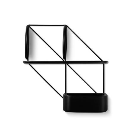 推荐组合:金属架+圆搁板×2+长搁板+储物盒(其中圆隔板安装时须注意AB面问题以保证牢固性,详请严格参照安装说明书)