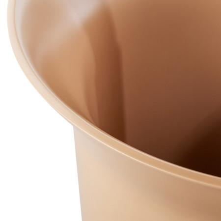 边缘优美弧度上下呼应,高精密度工艺制造,保证容器口公差为2mm