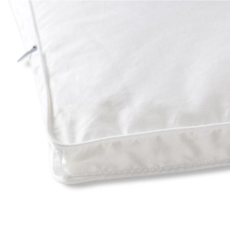 四角和长边两侧各1个绑扣,共6个,方便和多种被罩类型固定,任你滚睡不跑芯