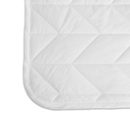人性化圆角包边设计,弧度匀称精美,完美贴合圆角床垫