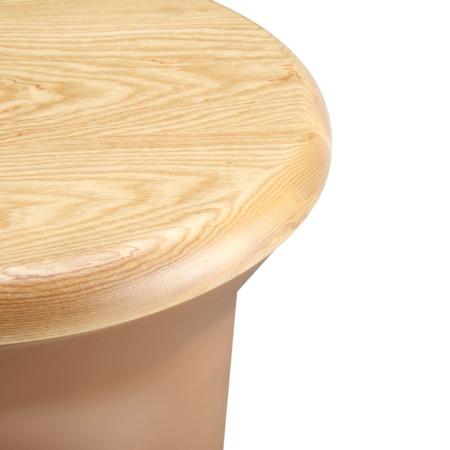全实木顶盖,精选北美进口A级白蜡木,材质坚固耐用,色泽淡雅自然,拥有天然细腻纹理