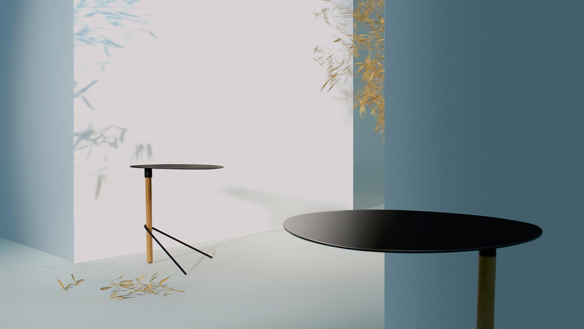 一杆一面一腿,第一眼的极简空灵,设计师Keiji Ashizawa采撷日本枯山水的石块灵感,将设计语言削减至本质;毫无赘述,剩下即是单纯至简的生命张力。?x-oss-process=image/format,jpg/interlace,1