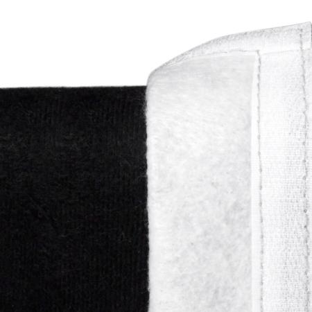 床套与床架通过魔术贴的方式连接,让表面更服帖平整,且便于拆下清洁