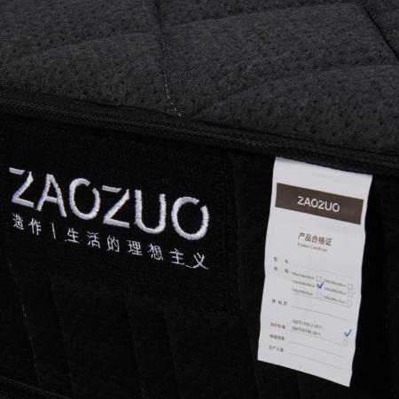 每一张床垫都经过滚压测试和软硬测试,织唛缝纫一侧向上为乳胶垫层