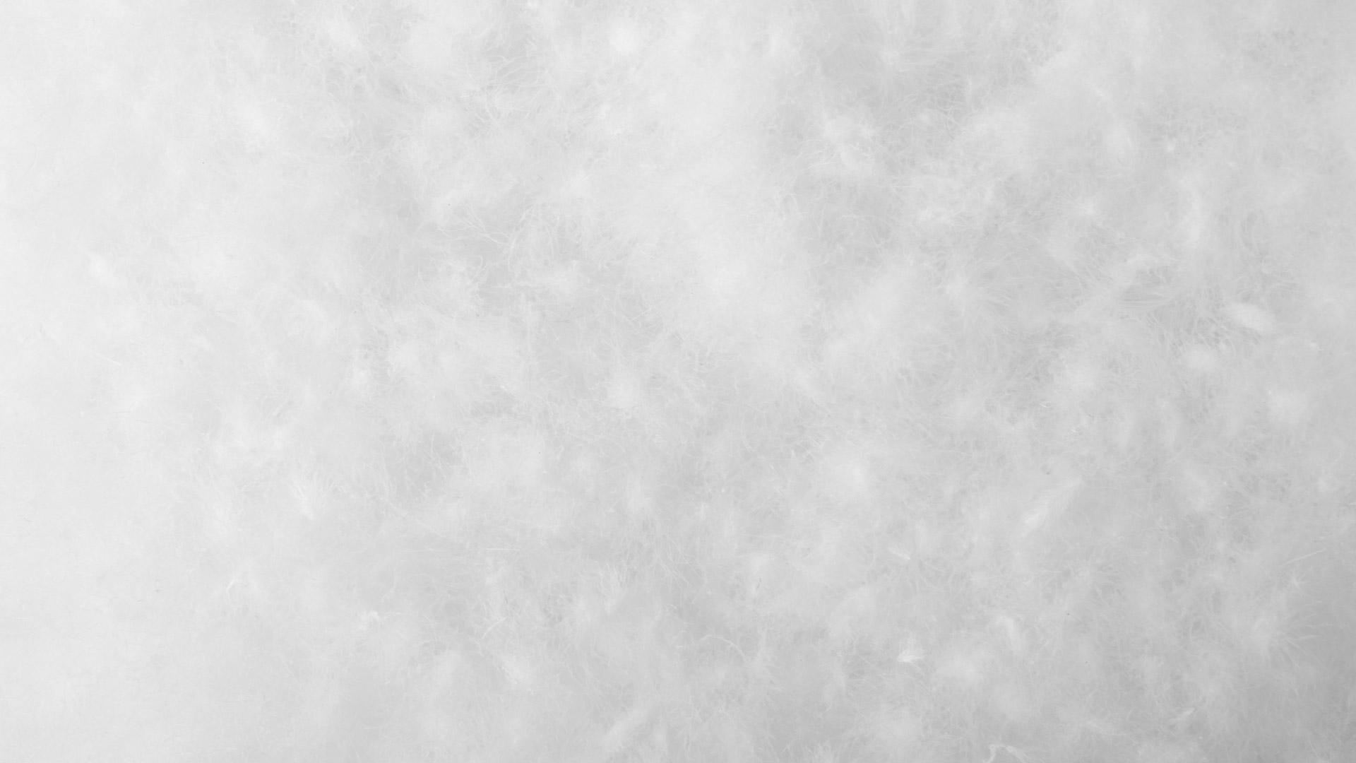 市面上常见的白绒、灰绒以及鹅绒、鸭绒中,我们选择了保暖指数和蓬松度最佳的白鹅初绒。取白鹅翅下、腹下的朵状初生绒毛,经过8个流程精细加工而成,所得鹅绒绒朵大,绒梗小,含绒量高达95%。