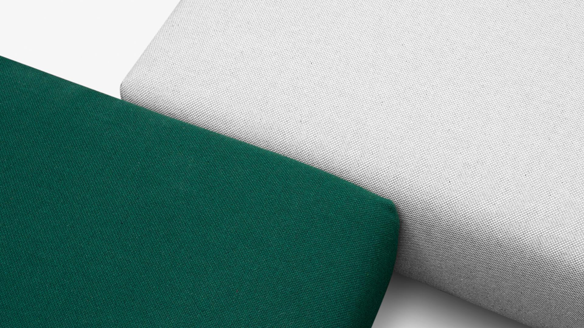 双色线混纺编织,细密质感立体视效