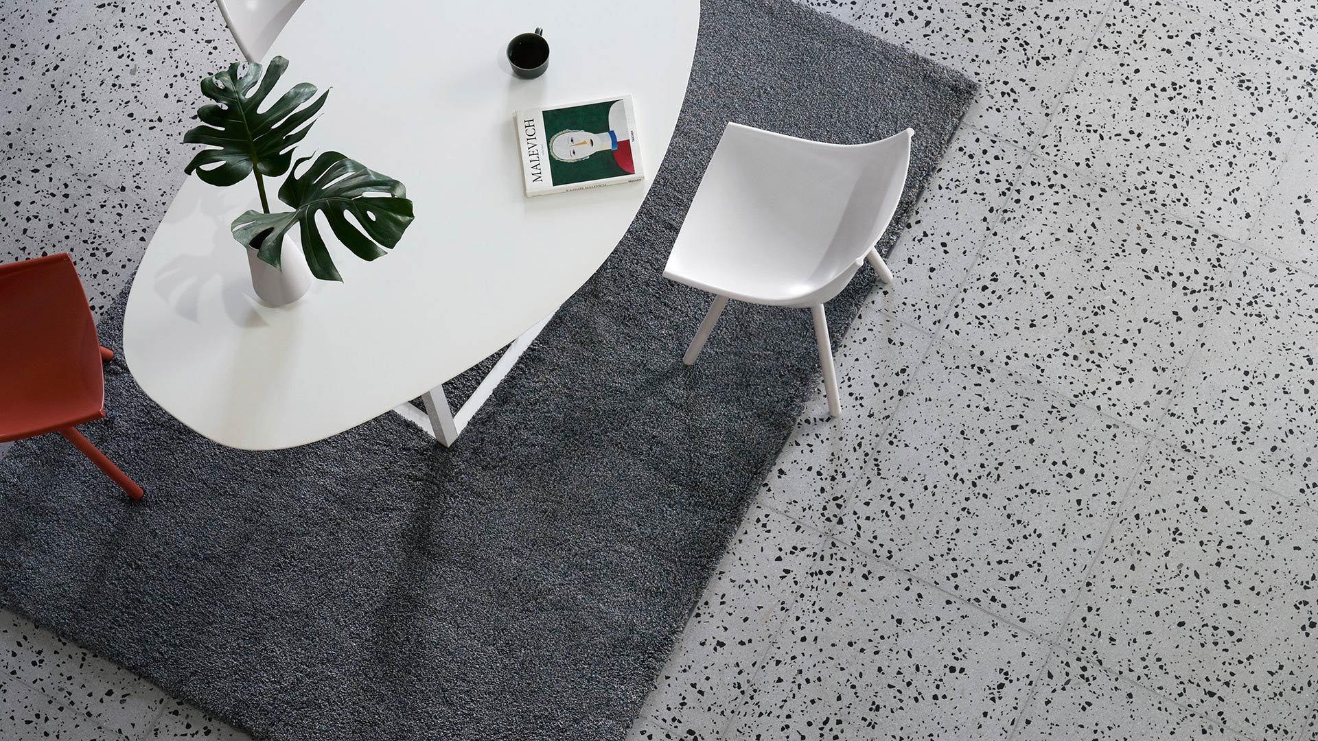 长款餐厅毯,优雅划分功能区域