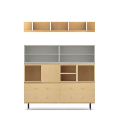 COSMO星格™书柜-1.6米宽