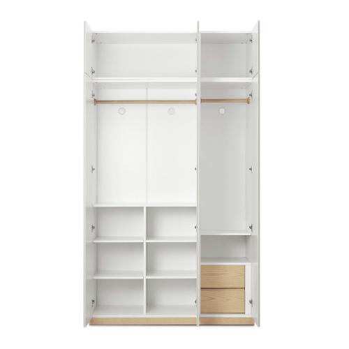山雪衣柜-A款+顶柜