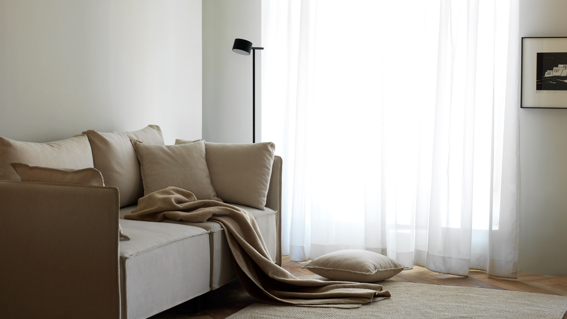 客厅小毯,为空间披上阳光的色彩