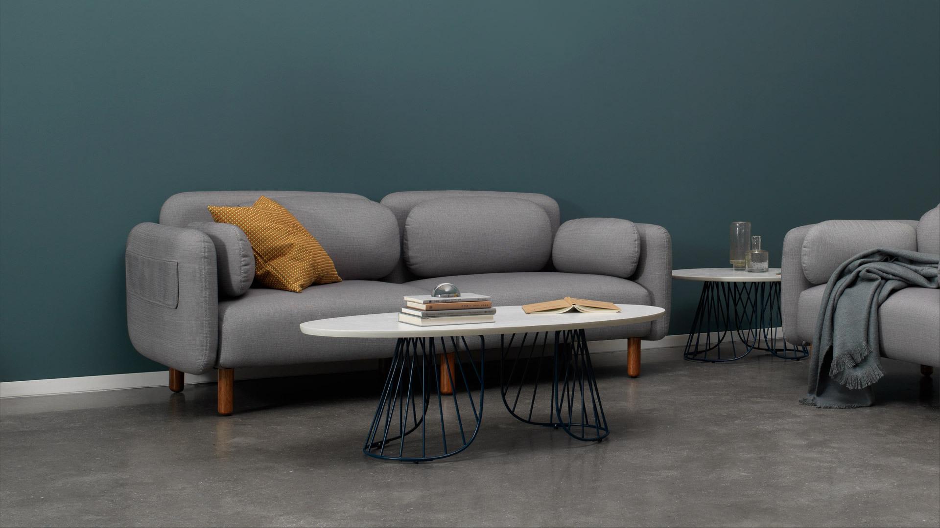 纤美构线,轻塑灵巧沙发区