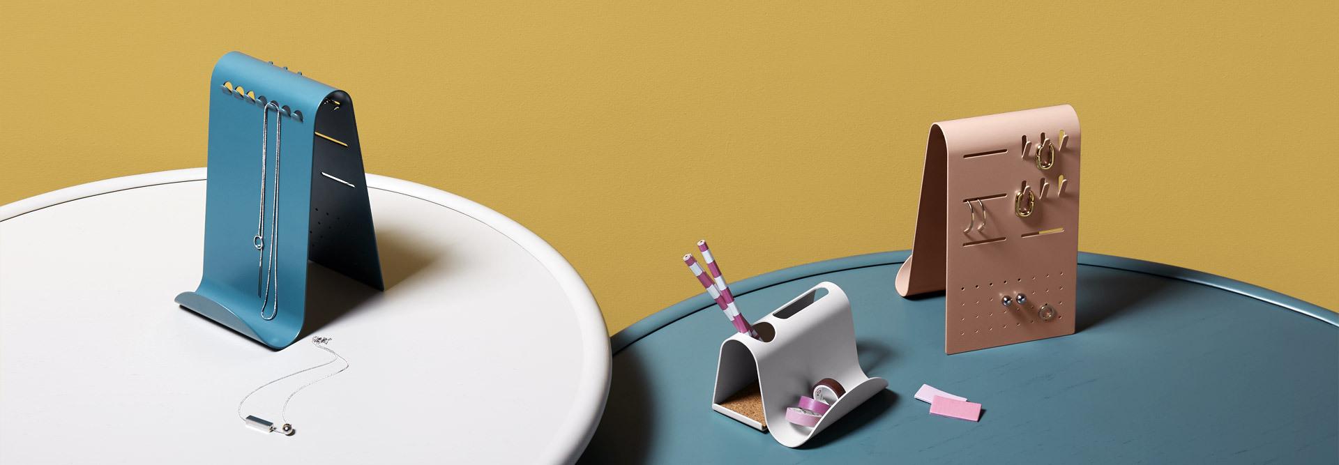 优美象鼻,嵌在桌面的别致胸针