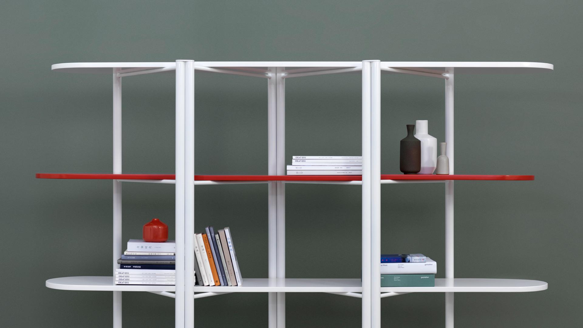 现代版中国屏风,告别沉重老书柜