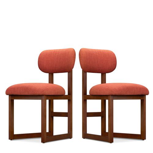 造作8点实木软椅®-2把装