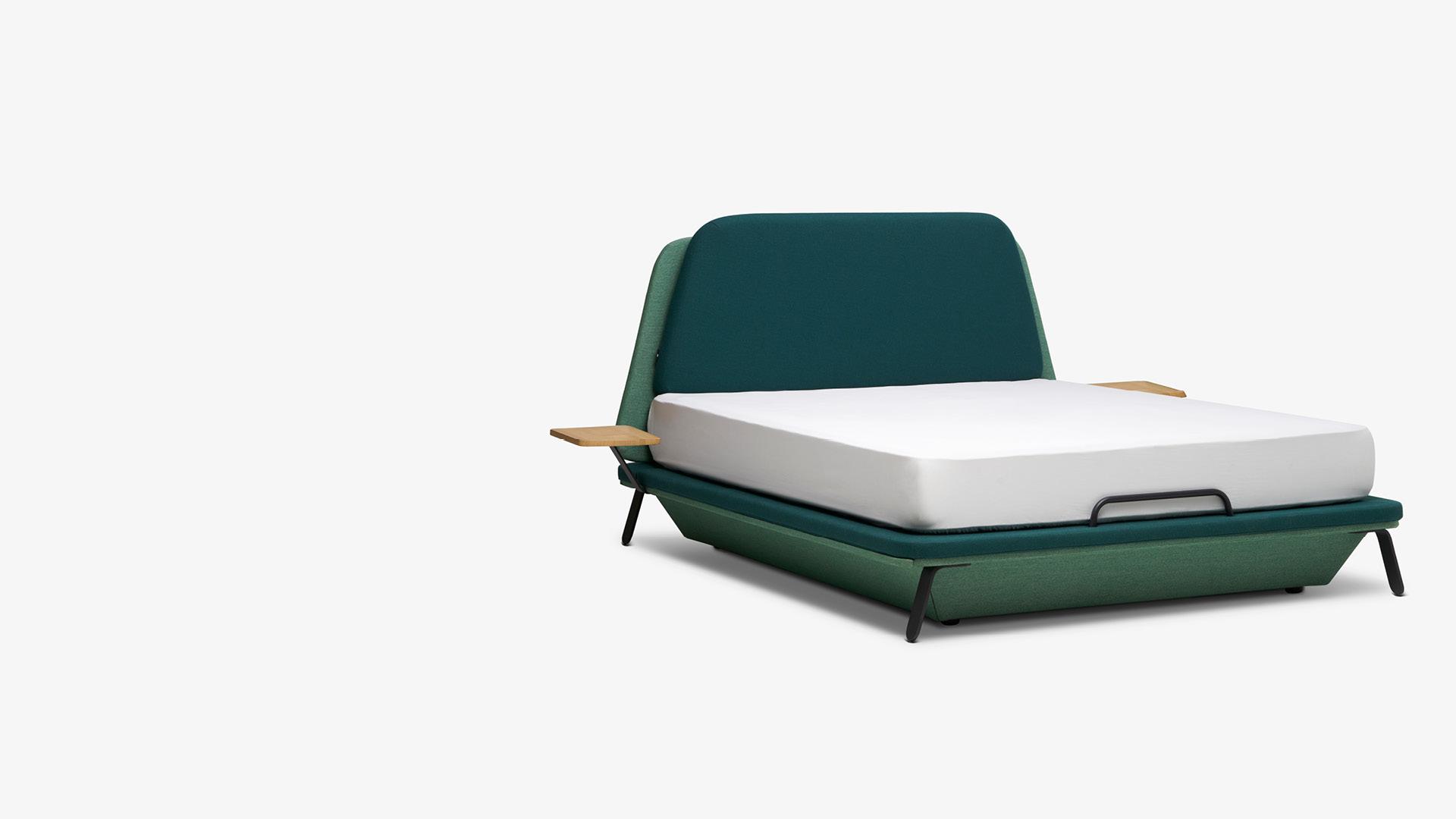 游艇灵感<br/>塑造一张别致软包箱体床