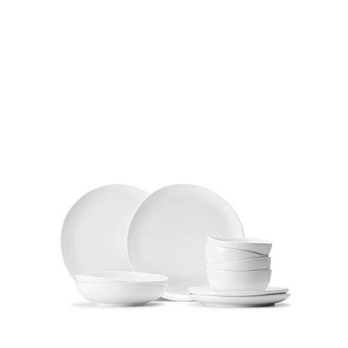 涟漪法国瓷土10件套餐具组