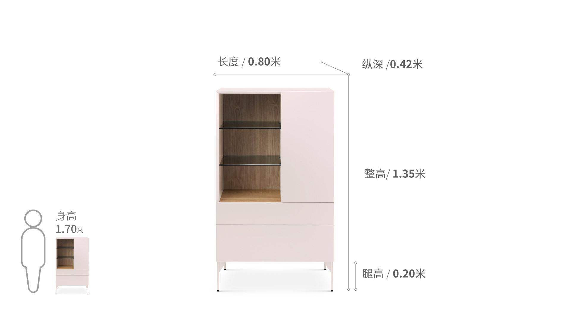 瓦格®-高柜柜架效果图