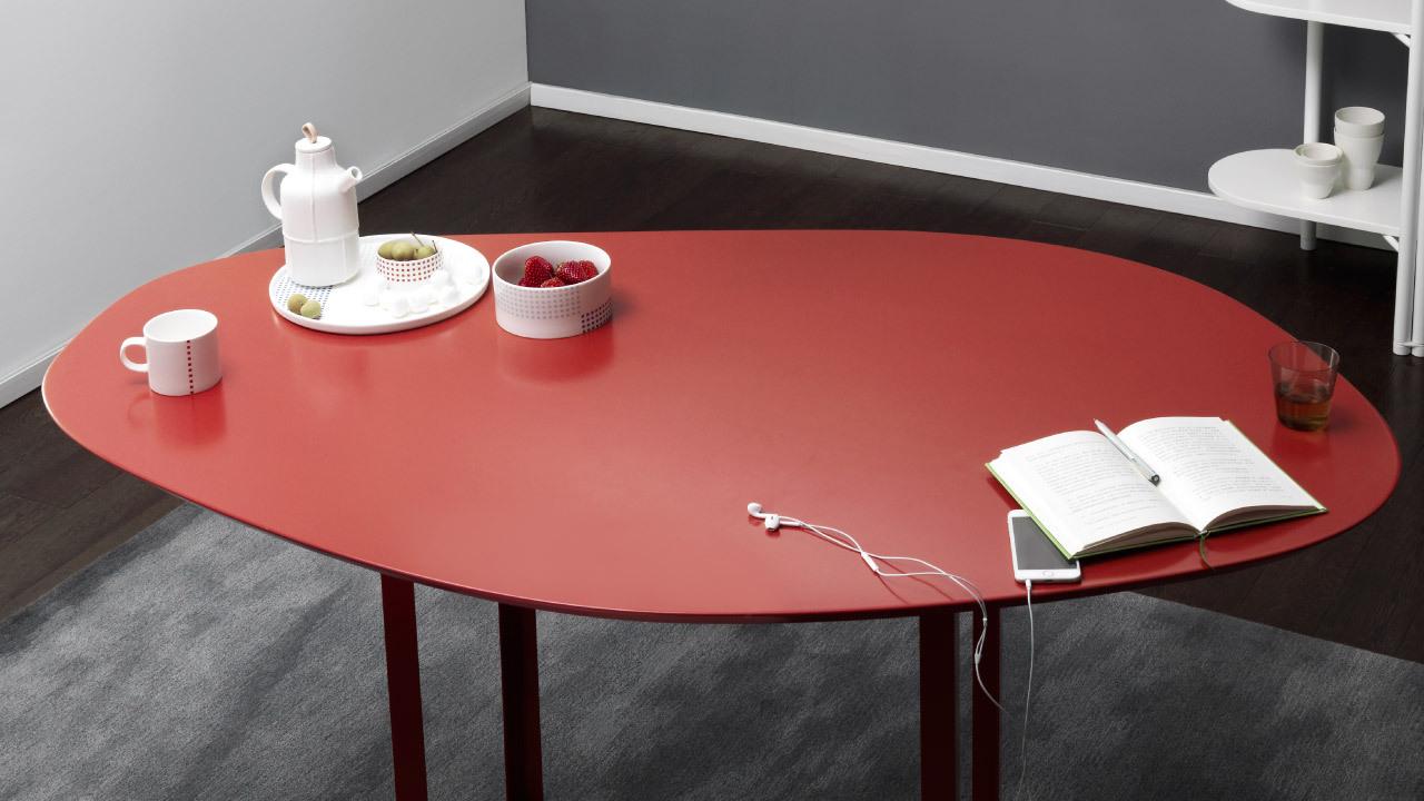 漂亮有机曲线,一款容积率翻倍的多功能桌