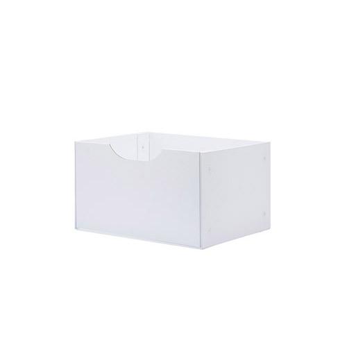 魔方磁力收纳系米白抽屉E柜架效果图