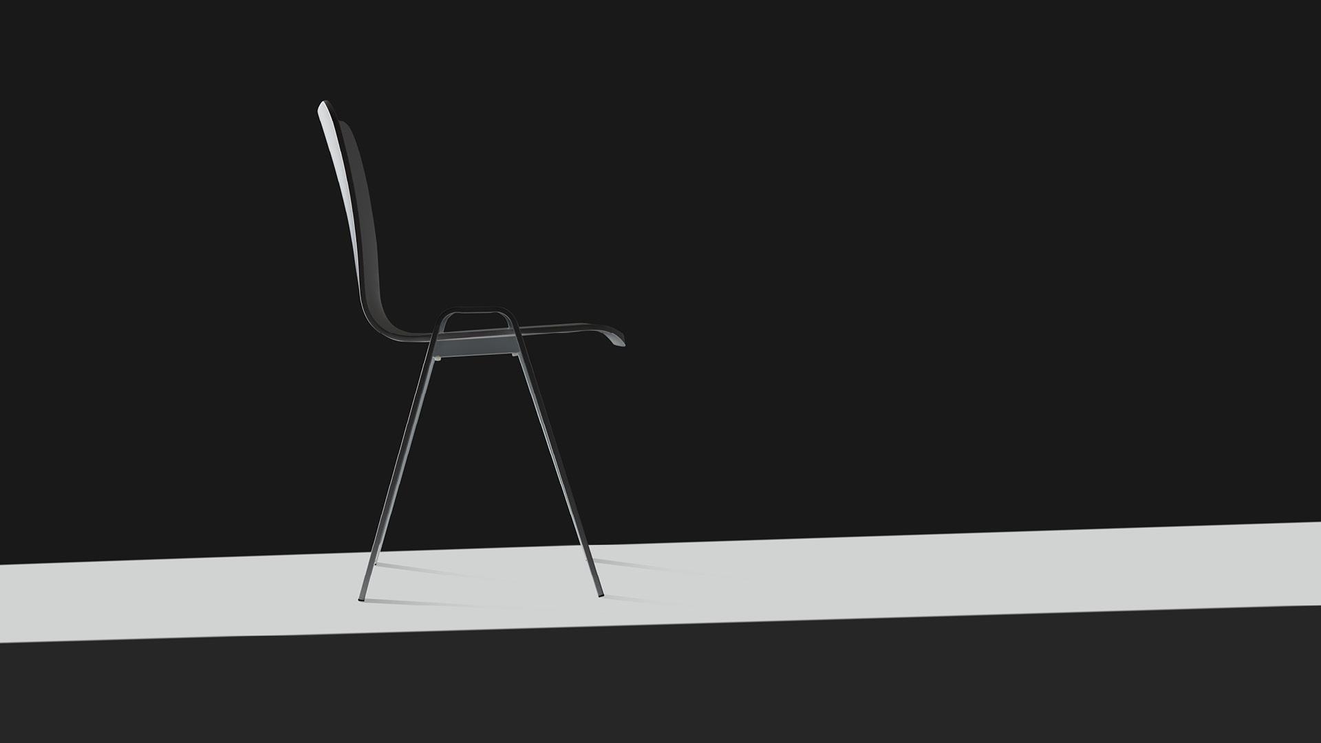 弧面椅背、后低前高的椅座设计,精准考量人体工学,带来L形舒适包裹;A形扶手和椅腿,提供上下双重支撑;两个字母的灵感契合,仿若一束美国西岸的智慧光,照见来自洛城的工业之美。?x-oss-process=image/format,jpg/interlace,1