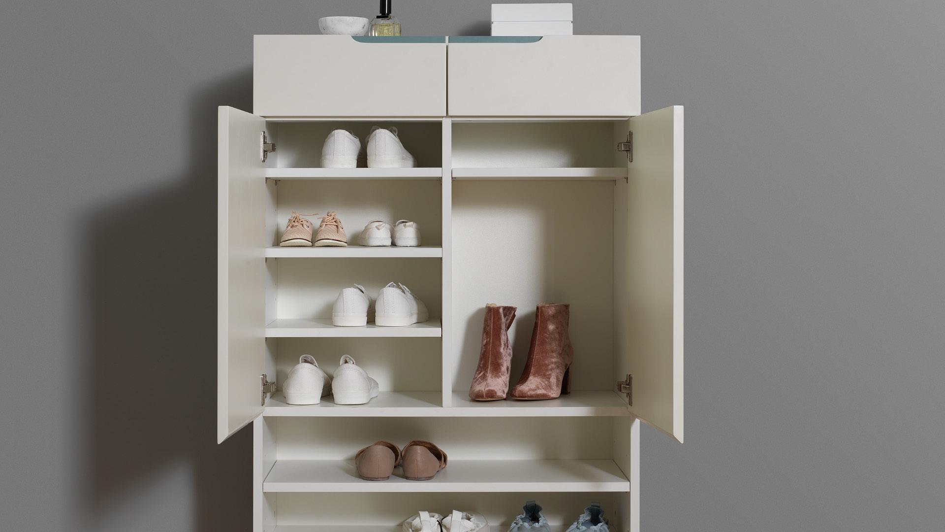 多尺寸隔板,15双应季鞋款轻松收纳