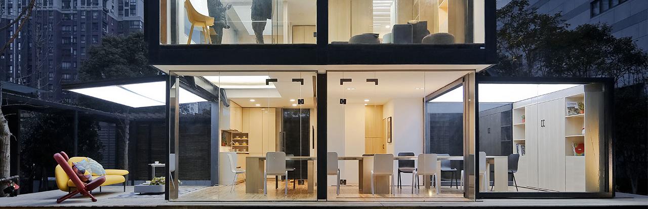 暖暖的新家 X 造作   72㎡集装箱变身4室8厅花园别墅