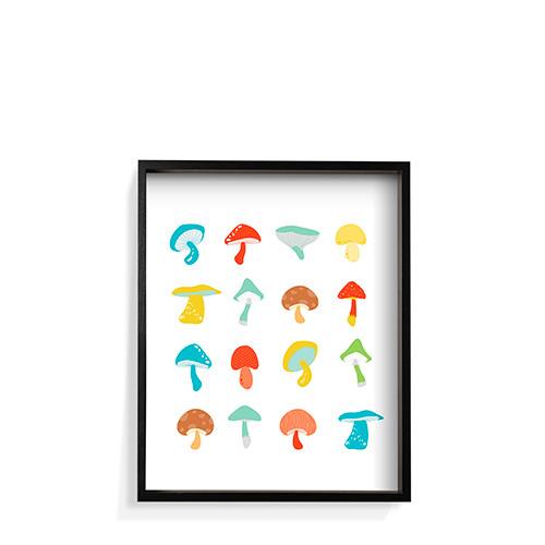 作画-蘑菇系列之彩