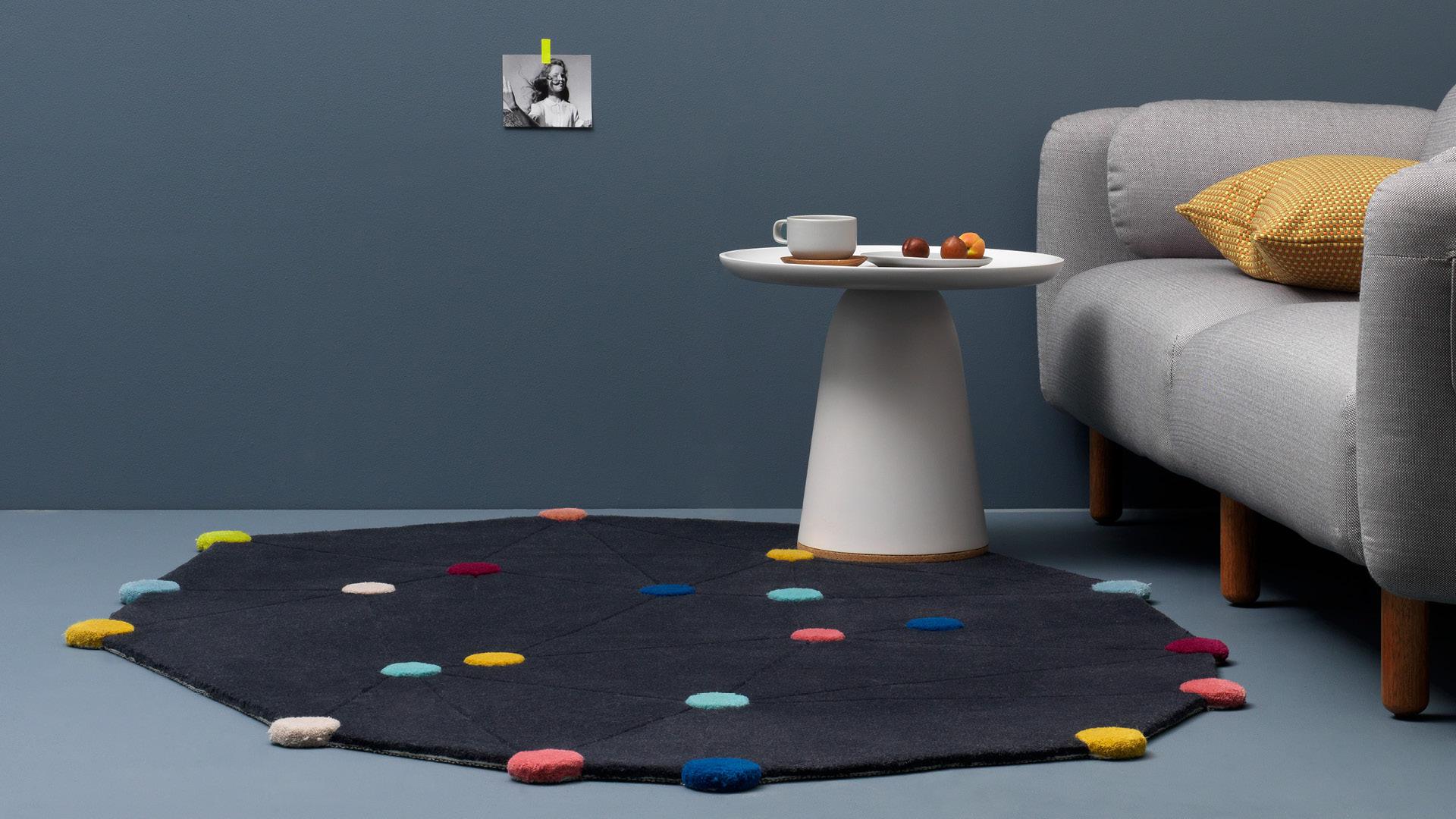 客厅小毯,浪漫点缀童趣世界