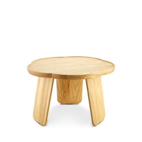 造作花间实木小桌®-矮桌五叶款
