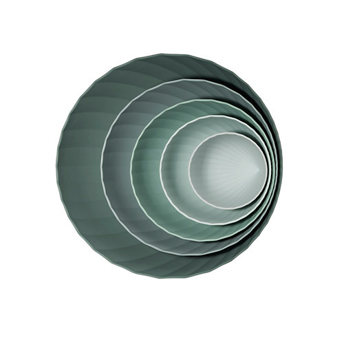 造作茶花套碗™餐具