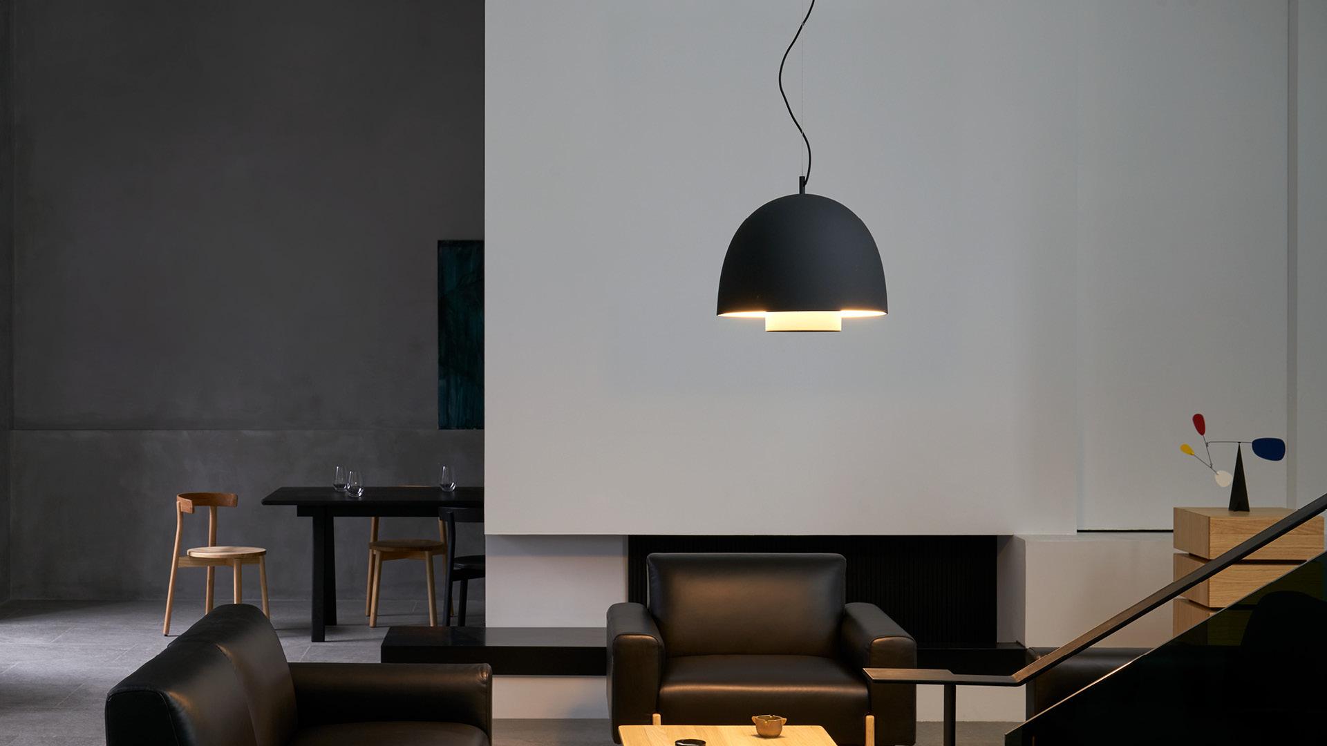 大号客厅主光源,不露灯泡,提供柔和氛围