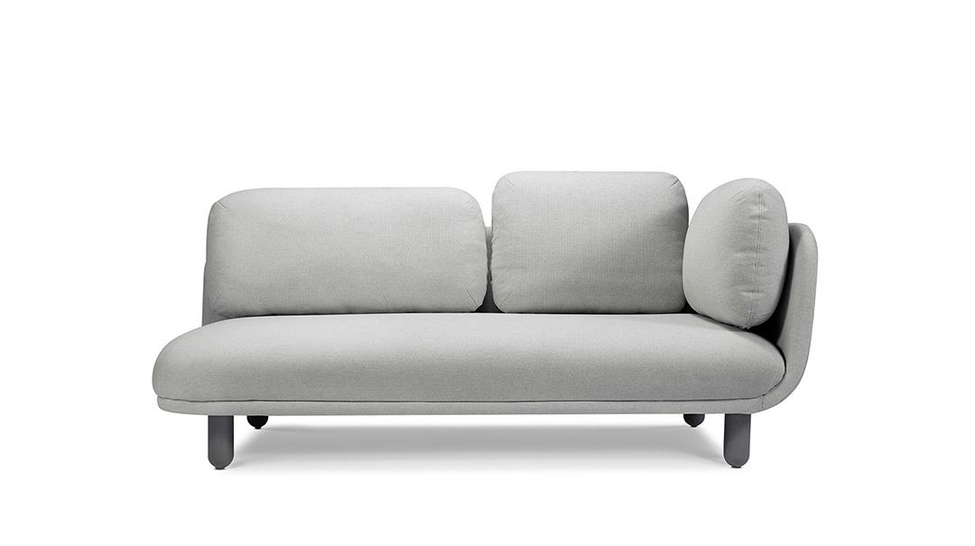 云团沙发升级版双人座右扶手沙发
