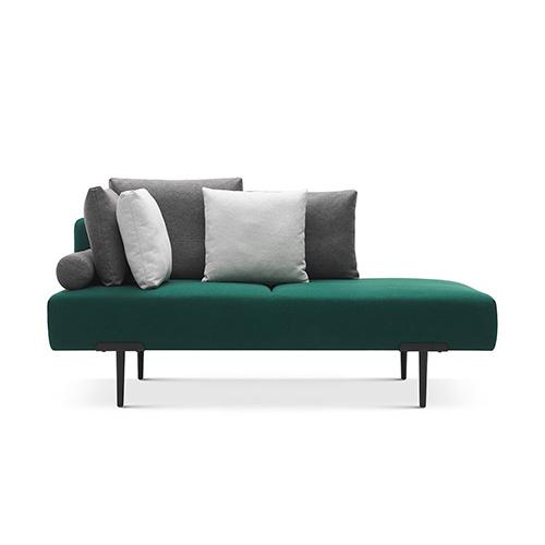 Sofa T双人座左靠背沙发效果图