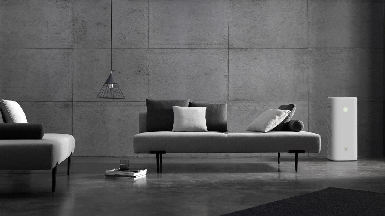 ▲ 与泽灰色系的Sofa T低调呼应,恰到好处的体量,无限空间延伸