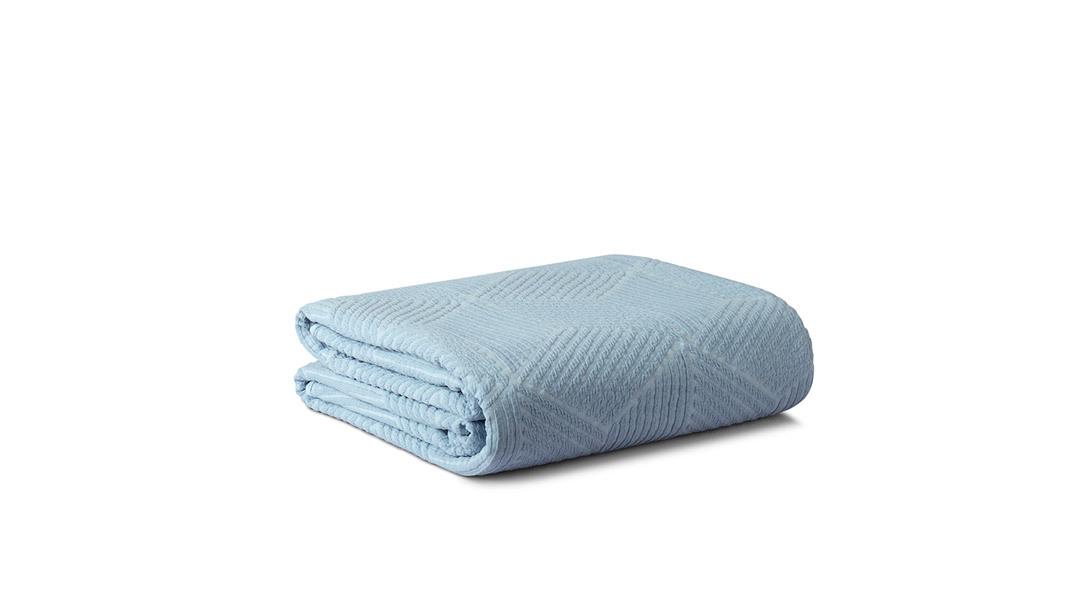 小雪提花四季毯小号单人毯(适配1.2米床)家纺