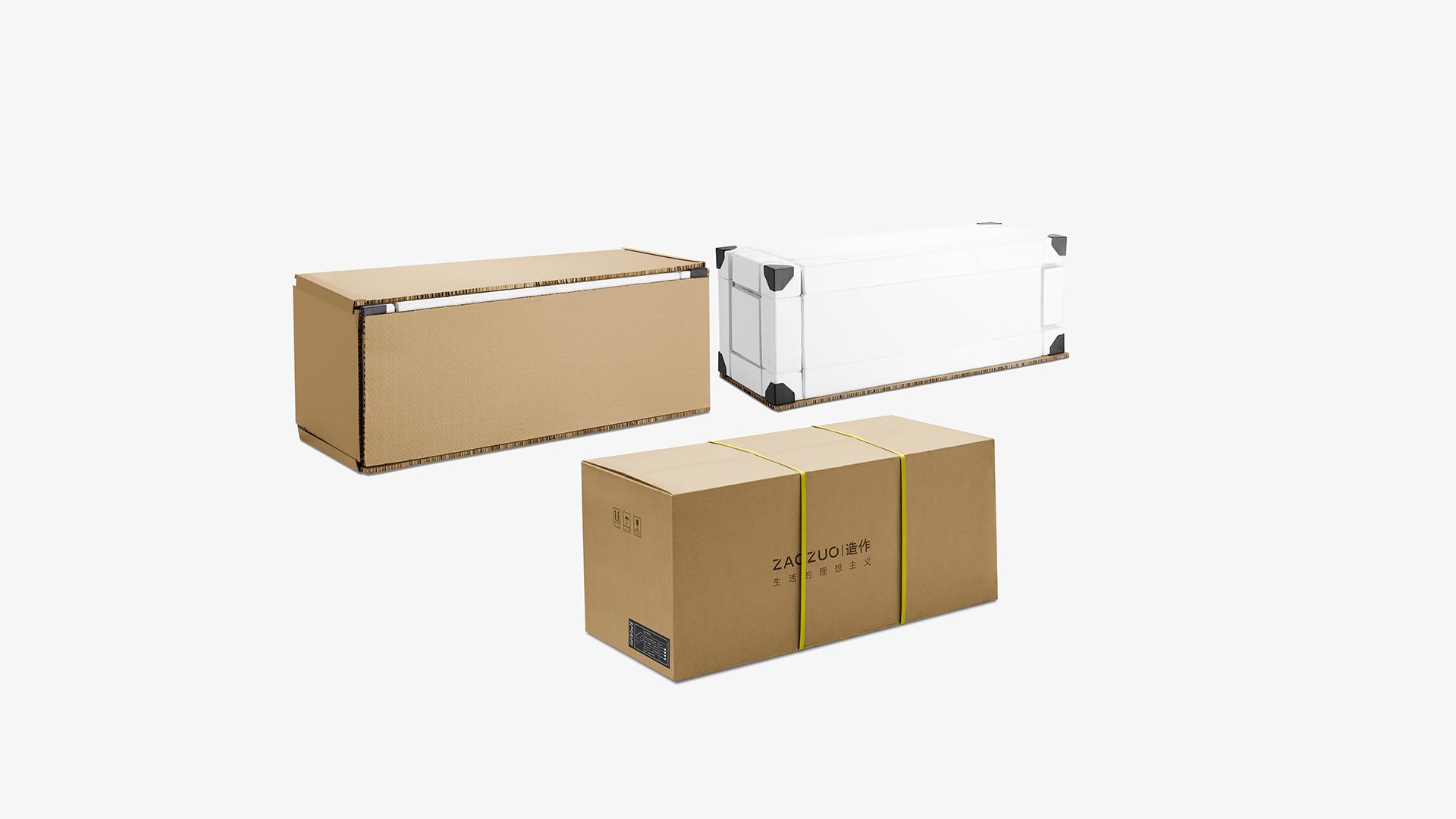 采用高强度瓦楞纸箱作外包装,无纺布袋封装包裹柜体,再以塑型保丽龙板固好,四角并设有PVC塑料护角防护,多层严苛的包装保护,确保产品安全完好送达?x-oss-process=image/format,jpg/interlace,1