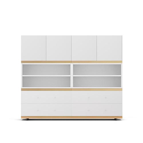 COSMO星格?書柜1.6米寬書柜/餐邊柜B款柜架效果圖