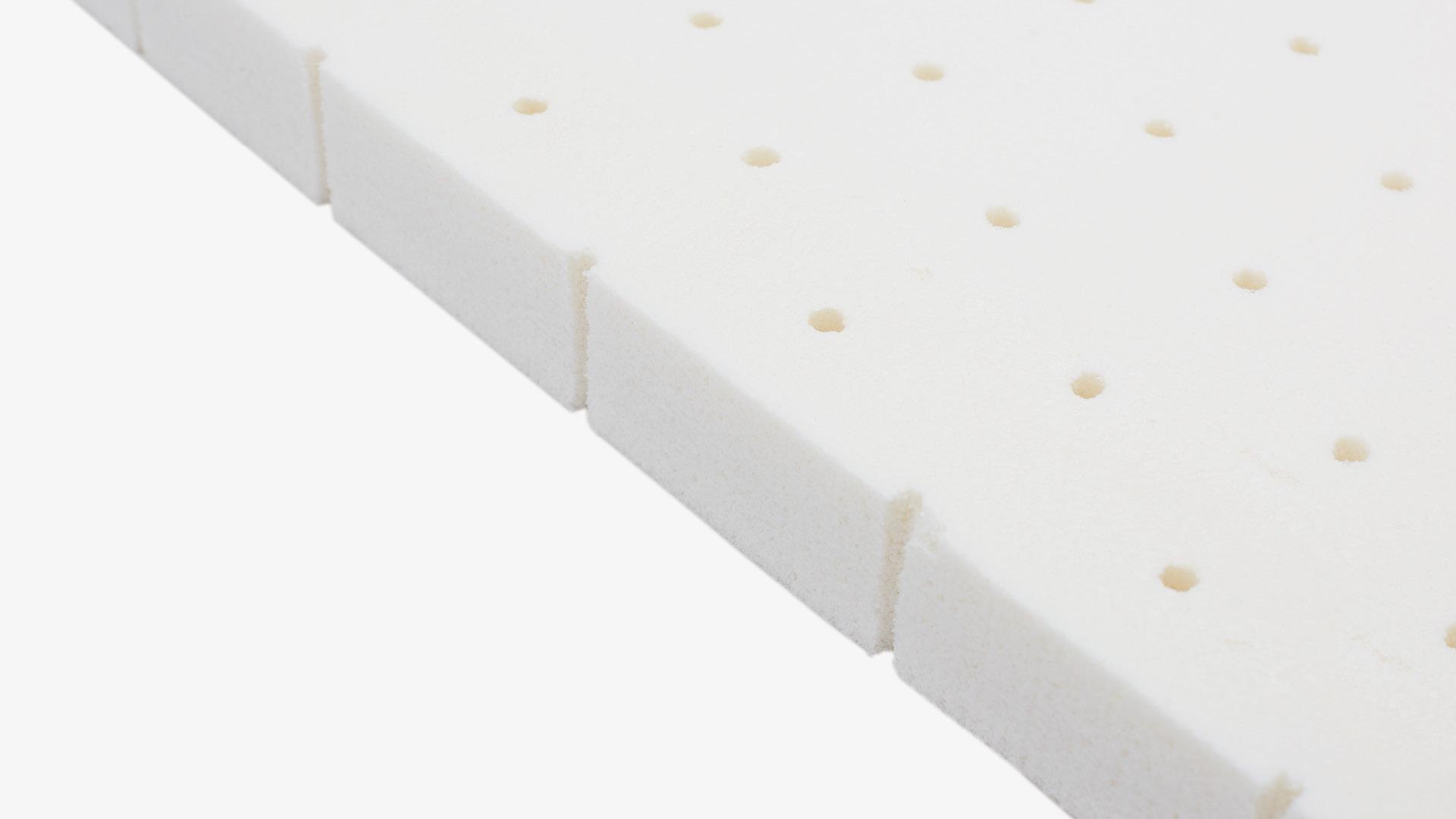 天然乳胶垫层<br/>快速回弹,紧贴身体曲线