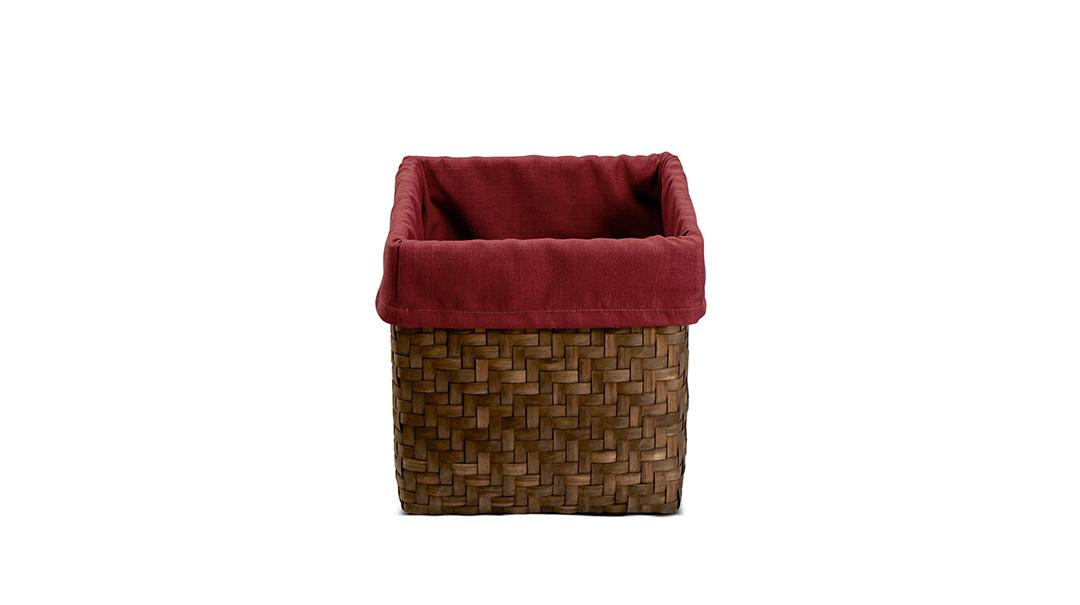 织木收纳筐装饰