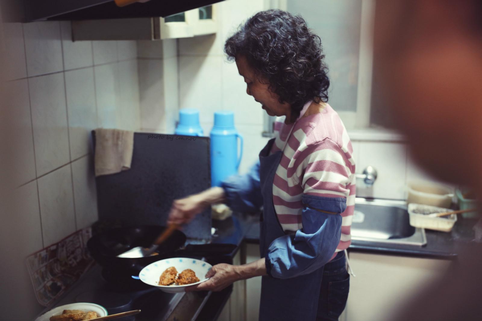 ▲曾经的厨房--王妈妈