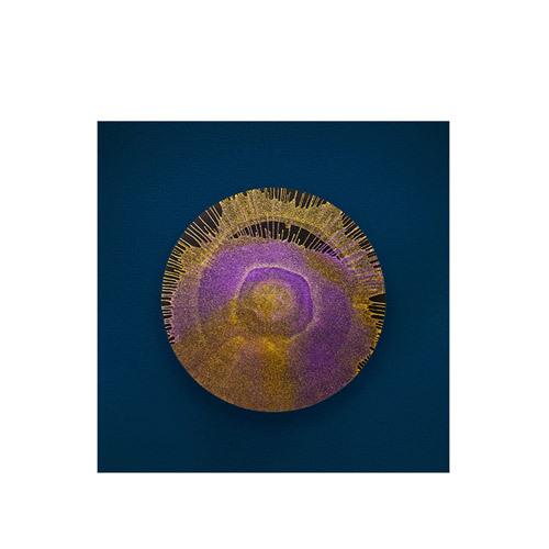 旅行家限量画芯 | Julien Palast作品2号-矿石2(装裱后)装饰效果图