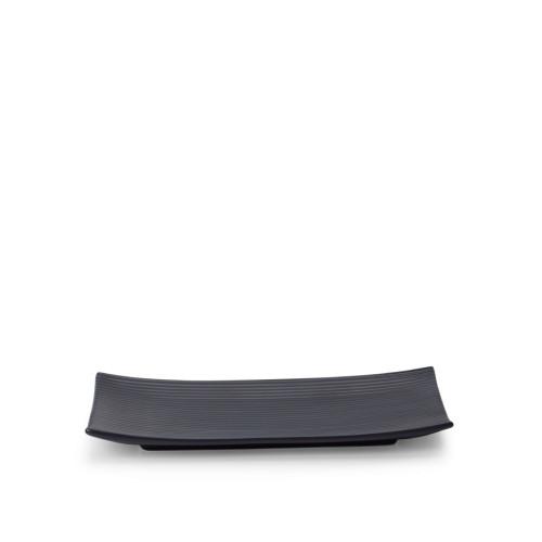 折简浸釉餐具组丨小长方平盘