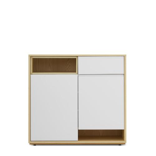 青山鞋柜-1米鞋柜+盒子