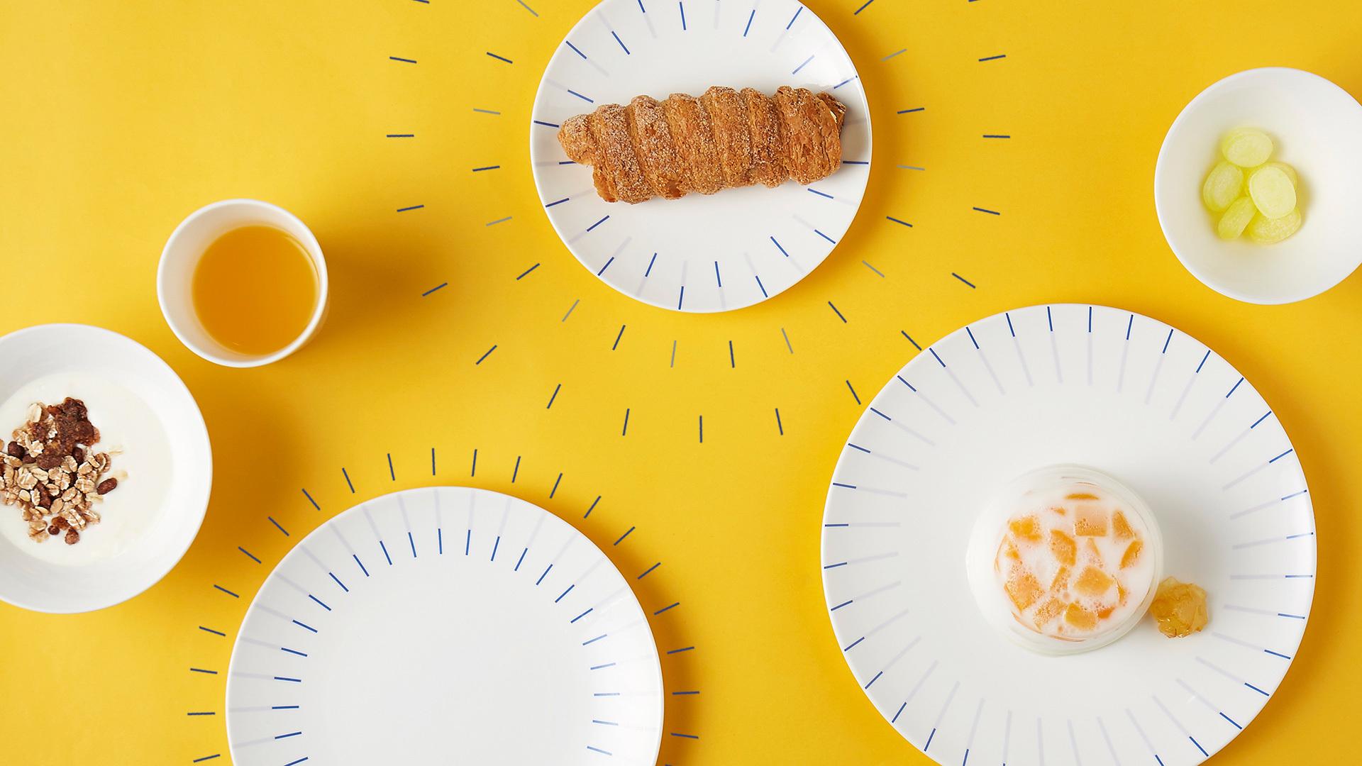 活力餐食,跃动节拍