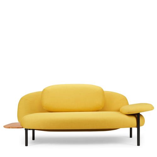 造作软糖沙发®-单扶手边桌双人座
