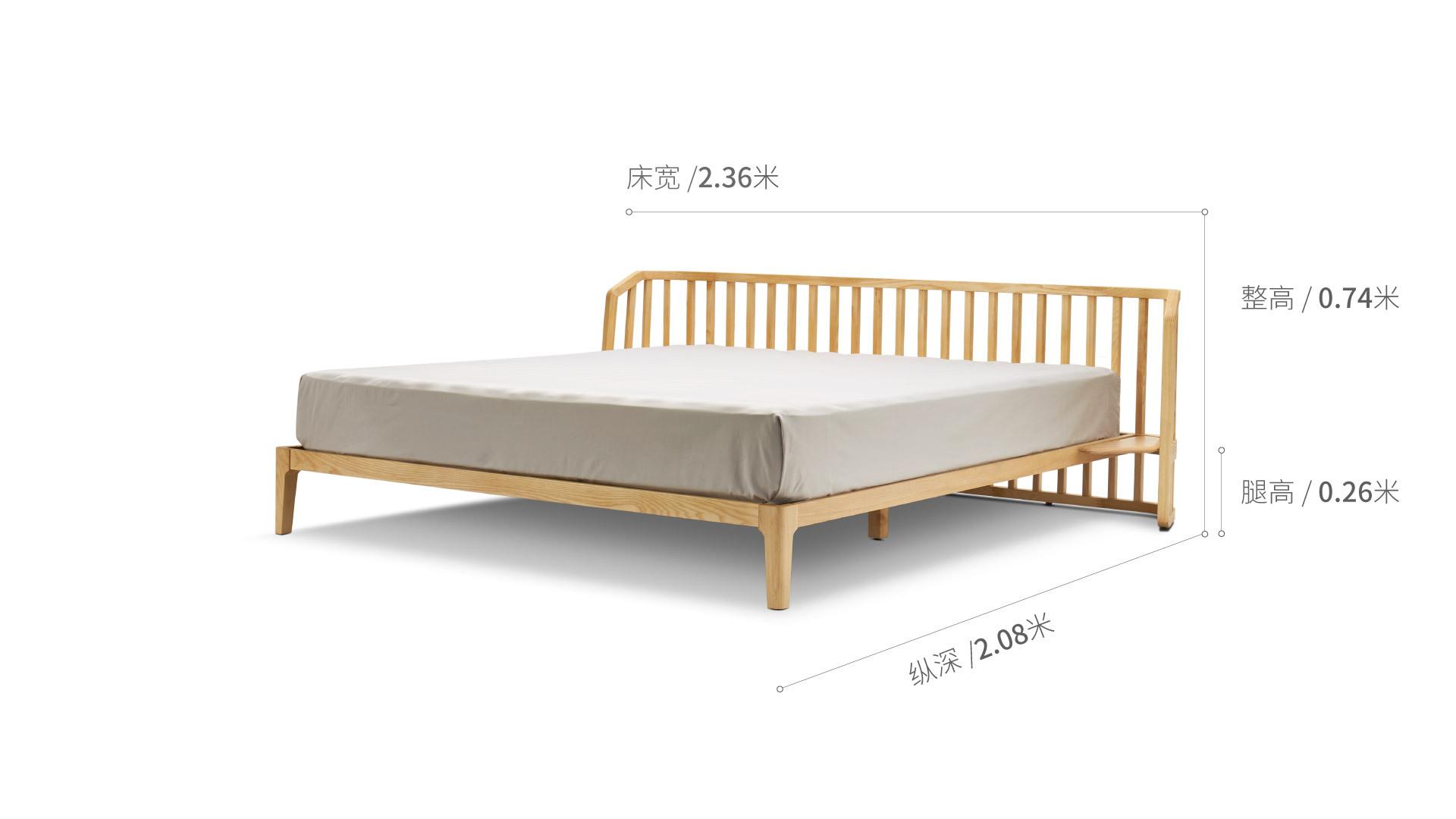 竖琴床床·床品效果图
